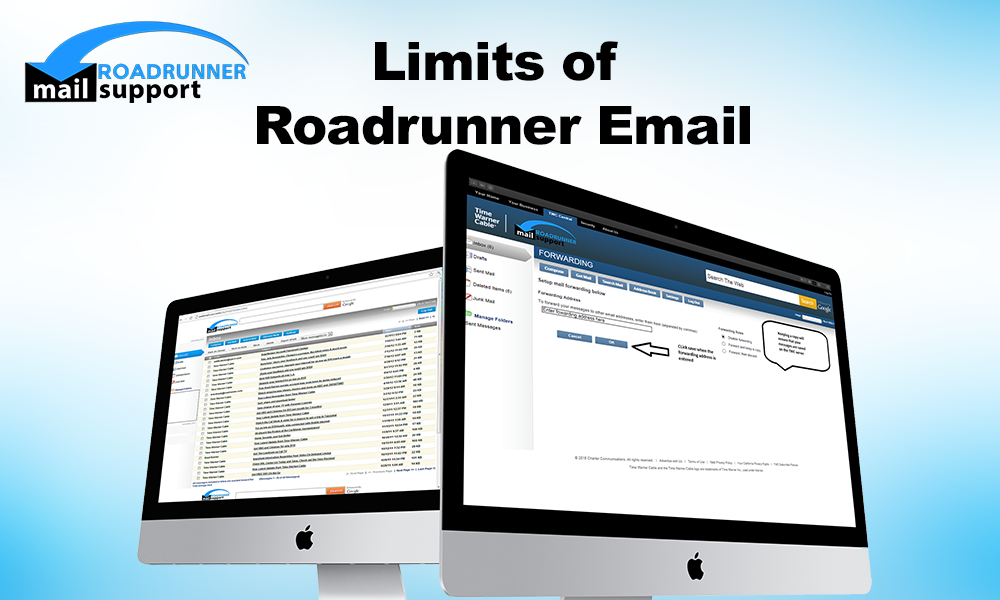 Limits of Roadrunner Email